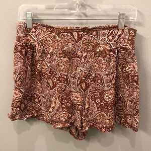 AE Floral Summer Shorts